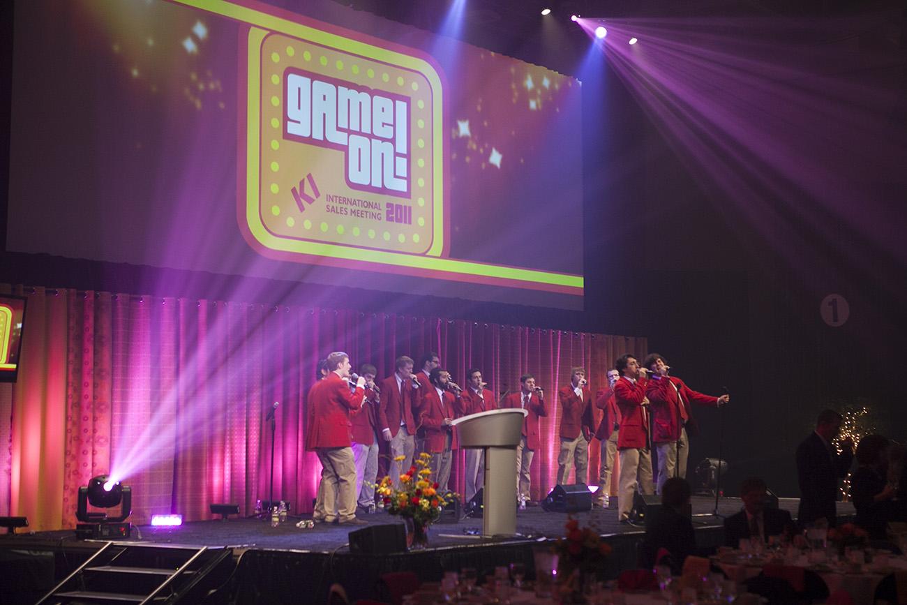 International Sales Meeting 2011 | Game On, KI
