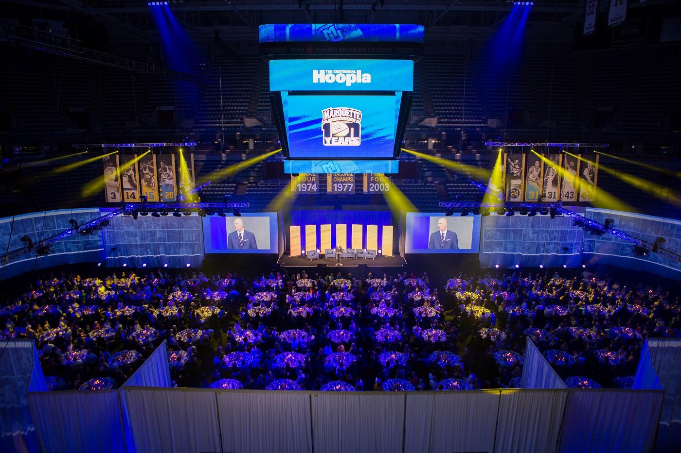 Marquette Centennial Hoopla, Marquette Men's Basketball